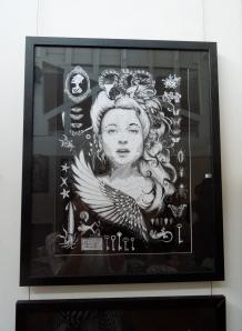 'Helena', framed £150