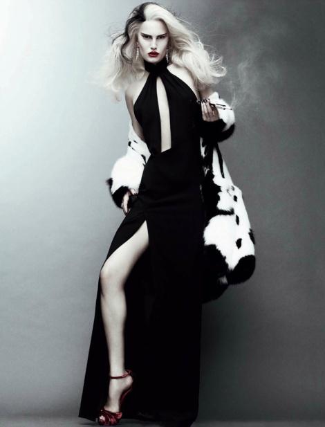Alla Kostromichova by Jason Kibbler for Vogue Russia October 2011