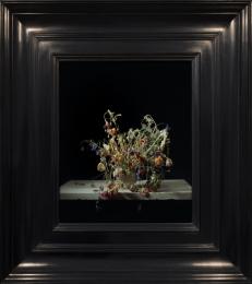 transforming Rachel Ruysch (1664-1750) Flowers in a Vase, c.1685